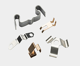 Large selection of stamping and bending parts in high precision and quality for various applications.